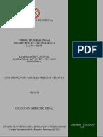 CODIGO PROCESAL PENAL DE LA REPUBLICA DEL PARAGUAY - LEY N 1286 98 - TOMO III - PORTALGUARANI-1