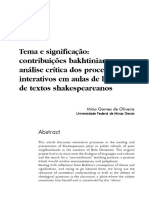 Tema e Significação_shakespeare