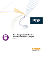 Base Designs Lab Setup for Validated Reference Design