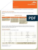 Plates - API-2W Grade 50