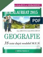 Abrudan I- BAC 2015 Geografie