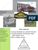 Types of Local Government