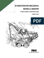 Manual Mecánico 2800XPB