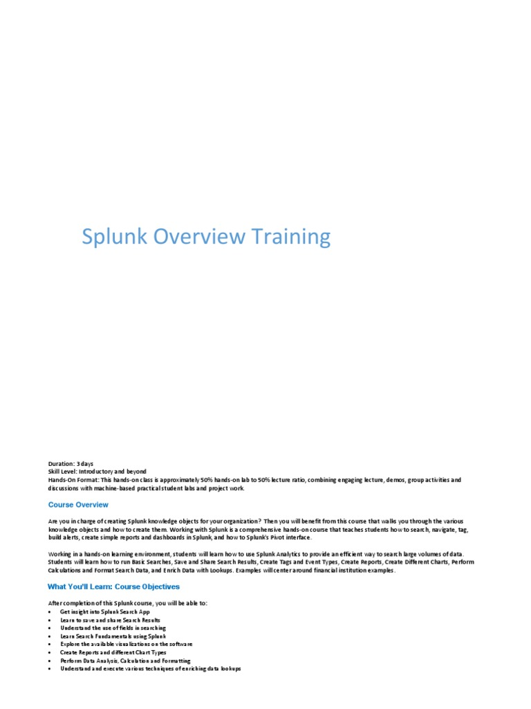 Splunk Book | Load Balancing (Computing) | Server (Computing)