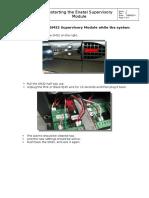 Restarting the Enatel Supervisory Module