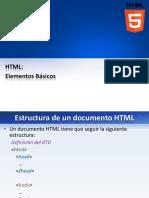 TEMA 02 - HTML - Elementos Basicos
