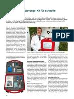 Kunststoff-Erkennungs-Kit für schnelle Ergebnisse