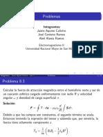 2 problemas de electrodinamica clasica