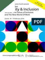 2016_Diversity & Inclusion Seminar Zurich Febr2016