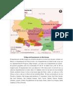 Guatemala y Sus Deptos en Mapa e Información