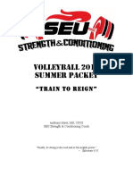 volleyball 2016 summer packet