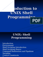 Intro to Unix