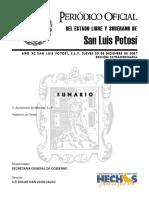 Transito Matehuala. (20 DIC 07)