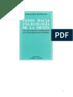 Bateson g Pasos Hacia Una Ecologia de La Mente (Forma y Patología en La Relación) (1)