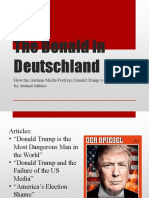 trump in germany