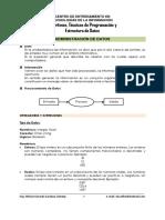 Administración de Datos - Algoritmos, Técnicas de Programación y Estructura de Datos