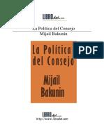Política del consejo