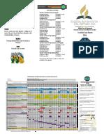 Trifoliar y Cronograma de Actividades