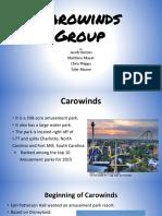 final carowinds project