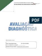 Avaliação Diagnósticas Alunos Com Nee