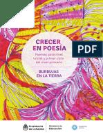 Crecer en Poesía Burbujas en La Tierra Inicial y Primer Ciclo Primaria
