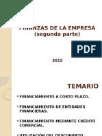 Unidad 4 Parte 2 Finanzas de La Empresa