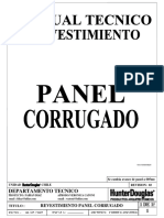 Hd Panel Corrugado Mt