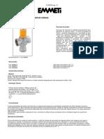 Manual Da Válvula Misturadora Solar