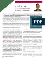 Sistema de Alertas de la Ley de Disciplina Financiera para las Entidades Federativas y los Municipios