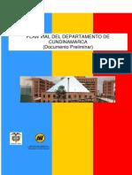 Plan Vial Cundinamarca