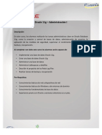 Oracle 11G Administration I