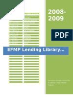 EFMP lending library list