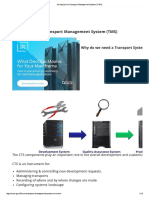 Introduction to Transport Management System (TMS)