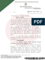 Rechazaron el pedido de excarcelación de Báez