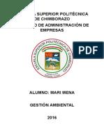 Procedimientos, Planes, Unidad de Producción Consumo Sustentables Para Las Licencias Ambientales