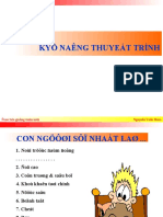 Ky Nang Thuyet Trinh - Nguyen Van Hoa - ueh