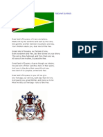 National Symbols- Guyana