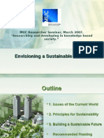 Envisioning a sustainable future