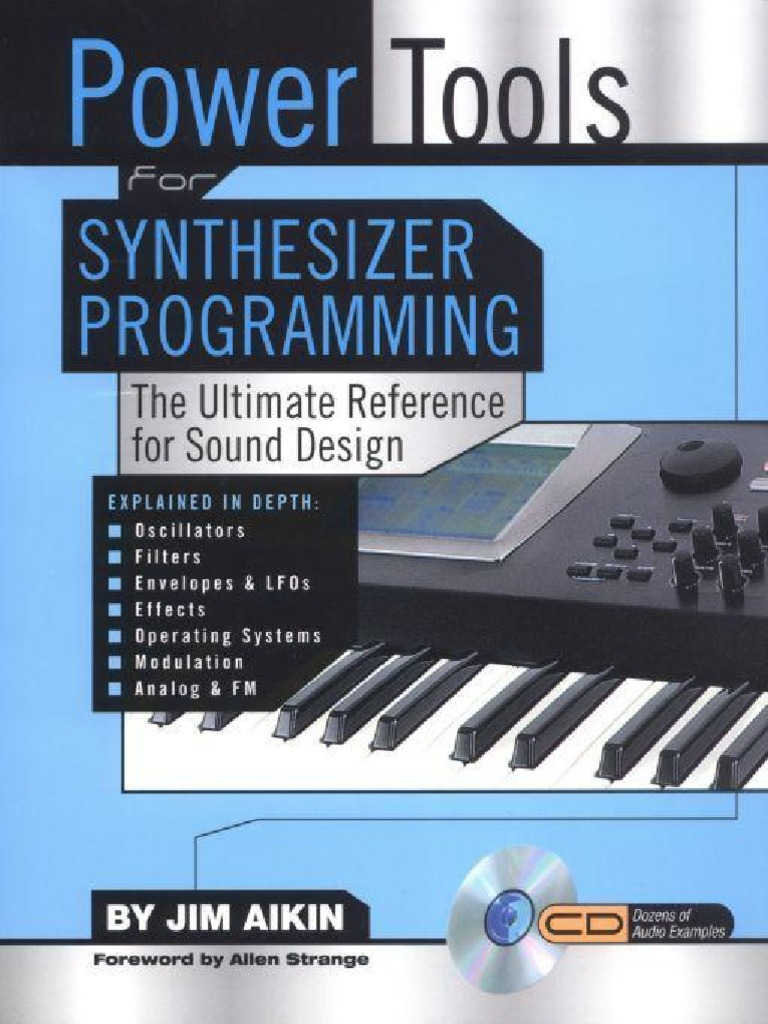 Power Tools For Synthesizer Programming The Ultimate Reference For Sound Design Pdf Synthesizer Modulation