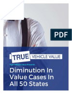 Diminution in Value Cases in All 50 States