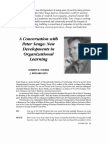 5.14. a Conversation With Peter Senge New Development in Lea