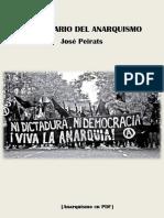 Peirats, José - Diccionario Del Anarquismo [Anarquismo en PDF]
