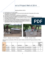 project well newsletter 2014