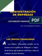 03 Control Gerencial - Indices Financieros