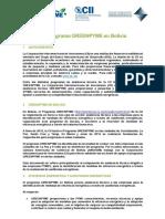 Informacion Empresas GREENPYME Amcham Final