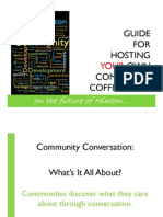 Community Coffee Shop Guide - Print Friendly