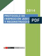PROTOCOLO DE INSPECCION JUDICIAL Y RECONSTRUCCIÓN
