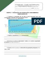 B.4 Teste Diagnóstico – Portugal Nos Dias de Hoje – Sociedade e Geografia Humana 1