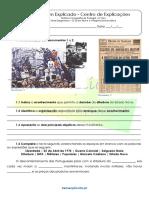 B.3 Teste Diagnóstico O 25 de Abril de 1974 e o Regime Democrático 1