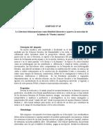 Descriptor Simposio L.L 2015 USACH